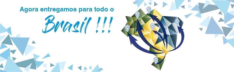 Agora entregamos para todo o Brasil.