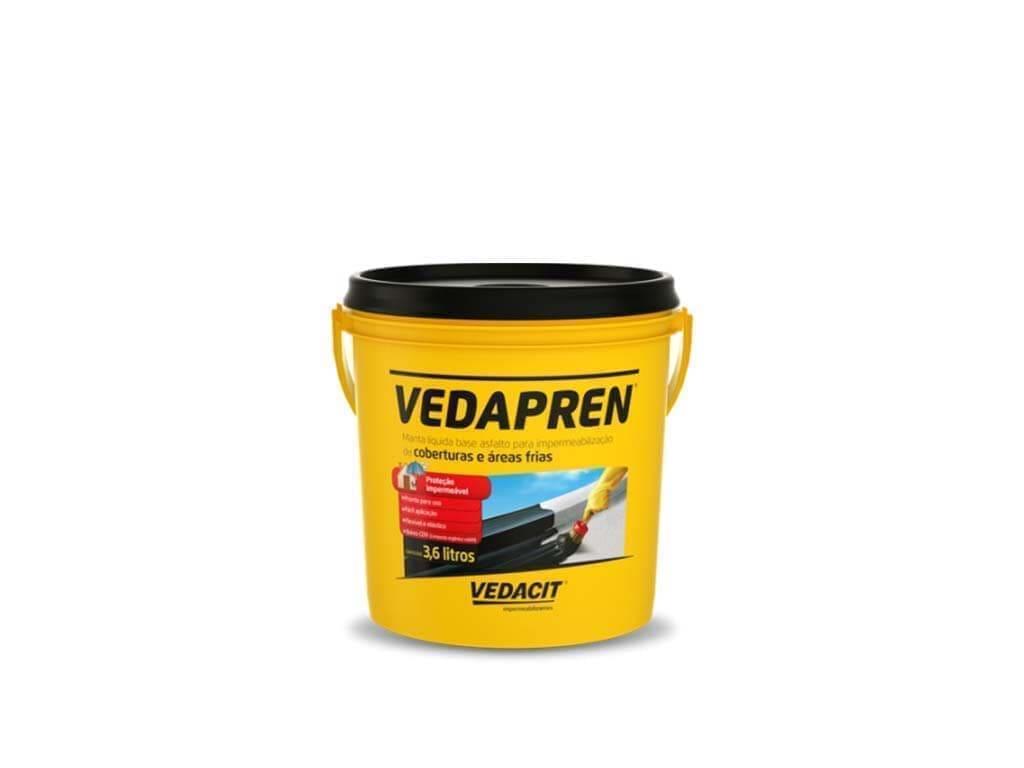Vedapren Preto (Galão 3,6L)