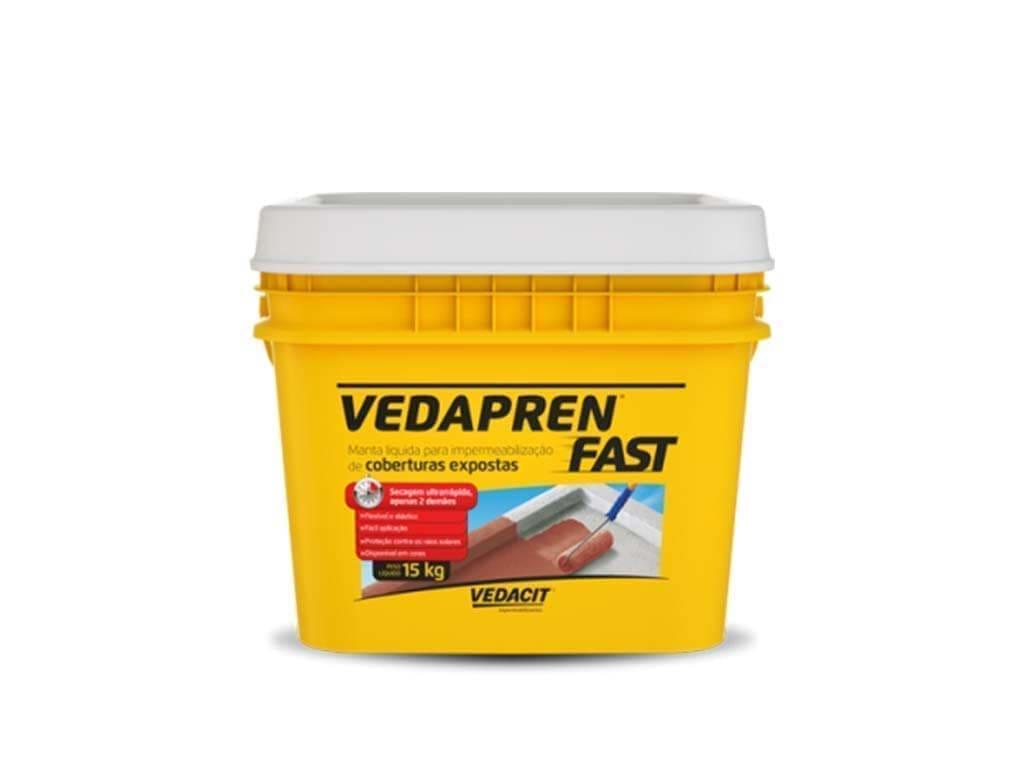Vedapren Fast Branco (Balde 15KG)