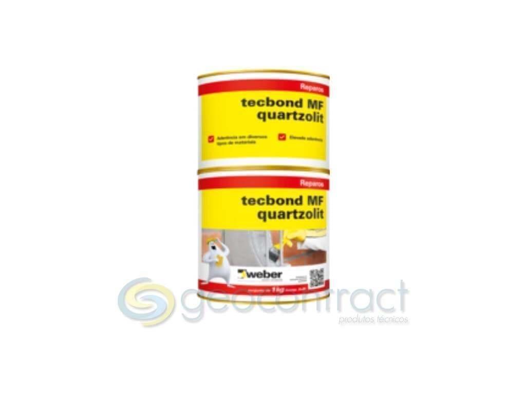 Adesivo Epóxi Tecbond MF Quartzolit (Lata 1KG)