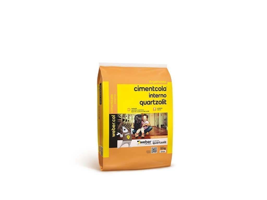 Cimentcola Interno Cinza Quartzolit AC1