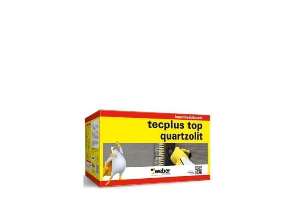 Tecplus Top Quartzolit (Caixa 18KG)