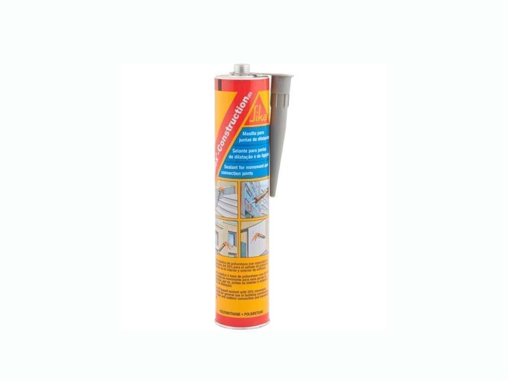 Sikaflex Construction Cinza PU 300ml
