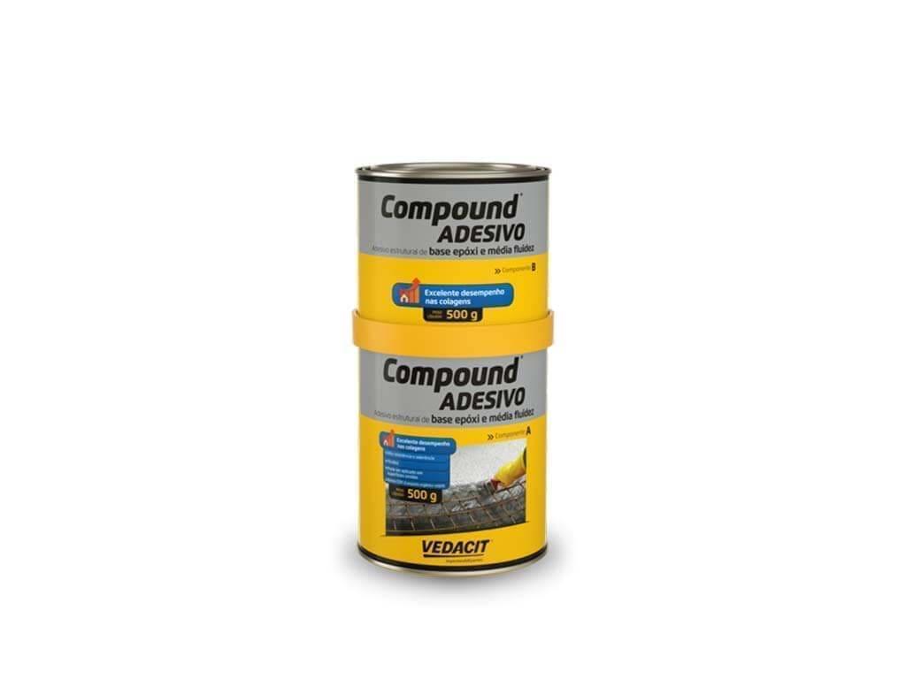 Compound Adesivo (Lata 1KG)