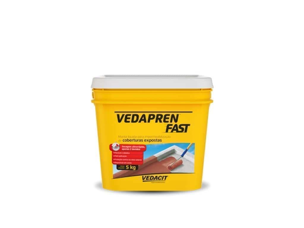 Vedapren Fast Branco (Galão 5KG)