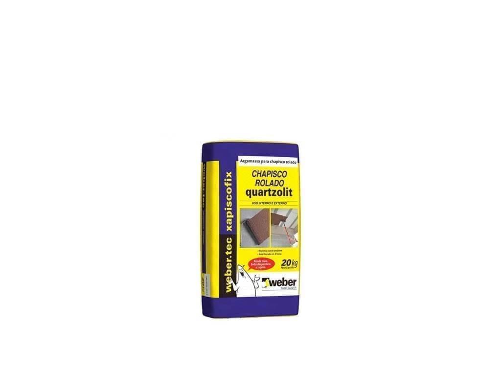 Chapisco Rolado Quartzolit (Saco 20KG)