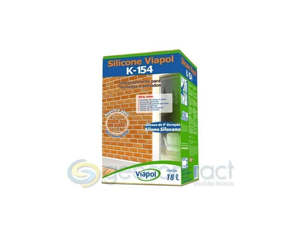 Silicone Viapol K-154 (Lata 18L)