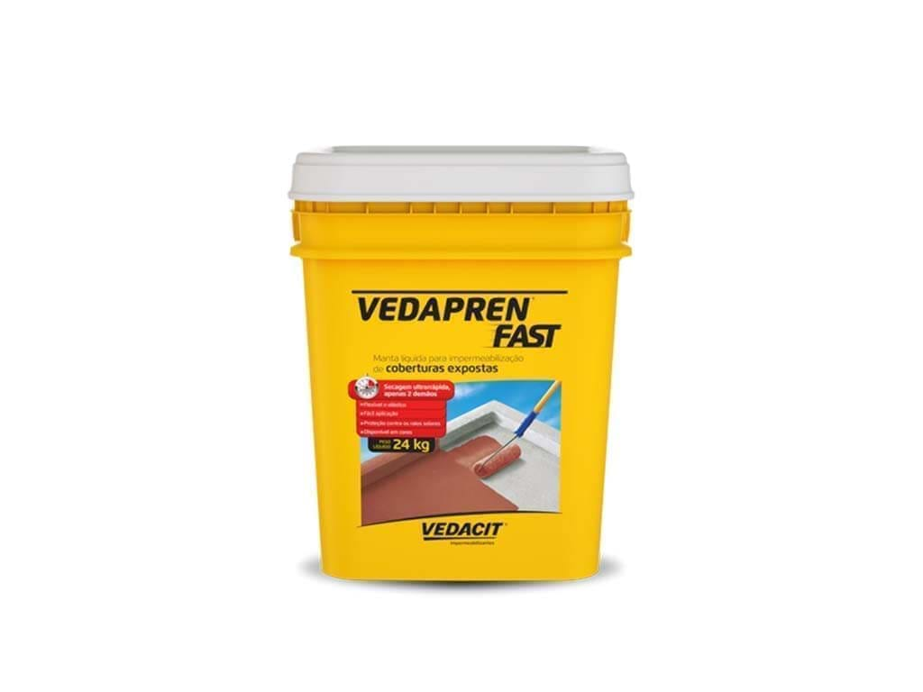 Vedapren Fast Concreto (Balde 24KG)