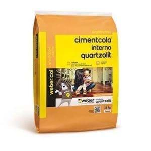 Cimentcola Interno Cinza Quartzolit AC1 (SC 20KG)