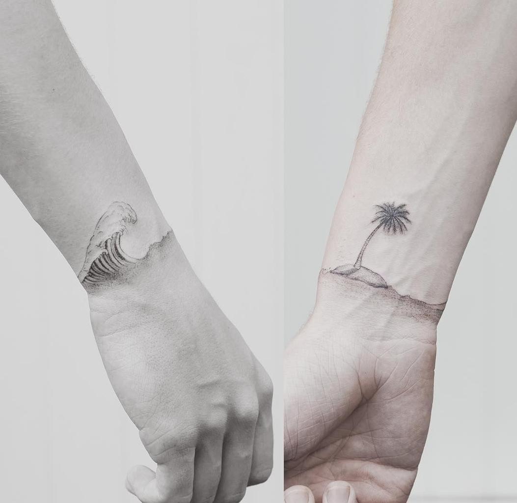Tattoo de praia - Beach Tattoo