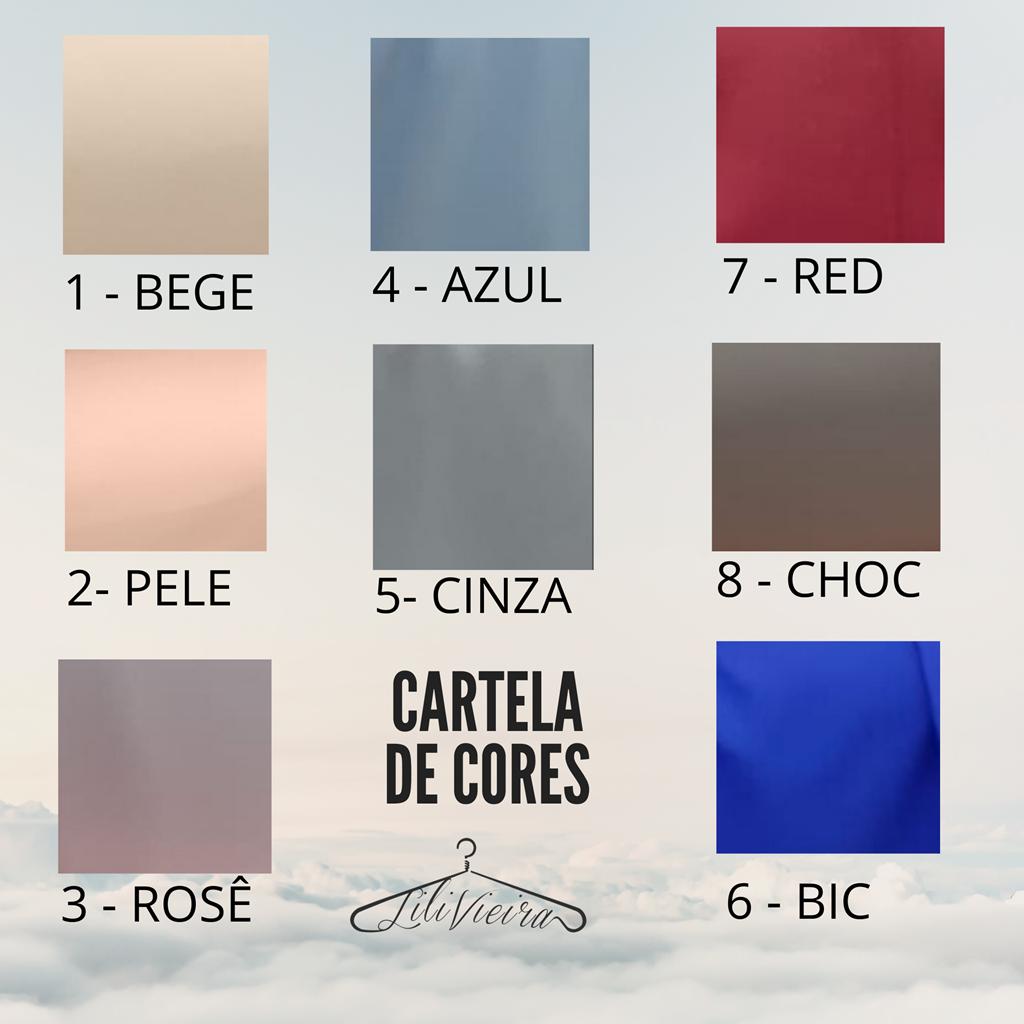 Tabela de cores Scrubs